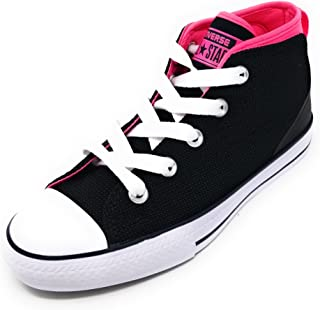 Junior CTAS Syde Street Mid Black/Pink Pow/White