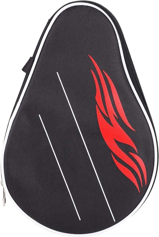 ZFQZKK Estuche de Ping Pong Protector Duradero Liso Ping Pong Paddle Bag Raqueta de Tenis Funda para Tenis de Mesa Juego de Ping Pong