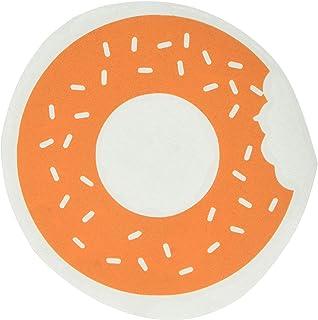 ملصق مائي من الفينيل على شكل دونات رشات Guru 2060-MAC-15X-P - 15 بوصة Macbook Pro (2016 & أجدد ) - برتقالي