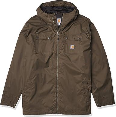 Carhartt Force Hooded Jacket Regenjacke Herrenjacke Schwarz Black 104245