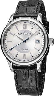 Maurice Lacroix Les Classiques Automatique Date LC6027-SS001-110-3 - Reloj de pulsera para hombre (automático, correa de p...