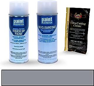 PAINTSCRATCH Florett Silver Metallic LZ7G/L5 for 2017 Audi Q7 - Touch Up Paint Spray Can Kit - Original Factory OEM Automotive Paint - Color Match Guaranteed