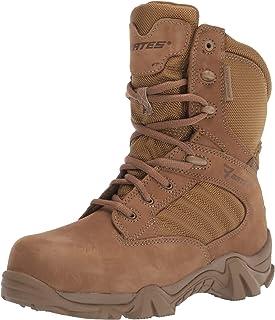 حذاء Bates رجالي Gx-8 مضاد للماء مزود بسحاب جانبي