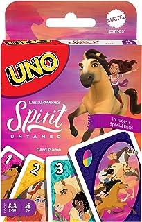 Mattel Games Uno DreamWorks Spirit Untamed Matching Card Game for 7 Year Olds & Up GXD73