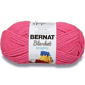 Bernat Blanket Bright Yarn, Pixie Pink
