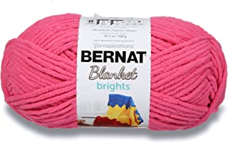 Bernat Blanket Bright Yarn, Pixie Pink