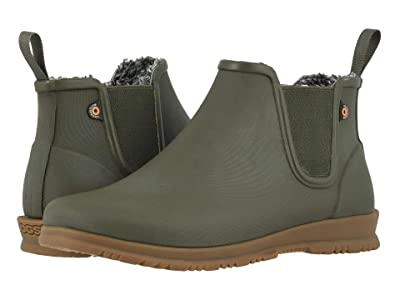 Bogs Sweetpea Chelsea Winter (Olive) Women