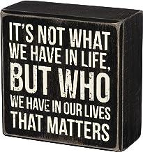 لافتة كلاسيك بوكس ساين، 10.16 سم × 10.16 سم، من بريمتتيز باي كاثي