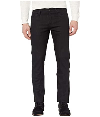 The Unbranded Brand Skinny in 11 oz Solid Black Stretch Selvedge (11 oz Black Stretch Selvedge) Men