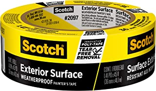 3M Scotch 2097 Exterior Surface Painter's Tape: 1.41 in x 45 yds. (Yellow)