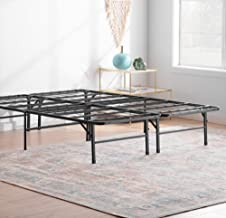 Linenspa 14 Inch Folding Metal Platform Bed Frame - 13 Inches of Clearance - Tons of Under Bed Storage - Heavy Duty Constr...