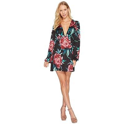 Show Me Your Mumu Dakotah Dress (Ruby Bloom Satin) Women
