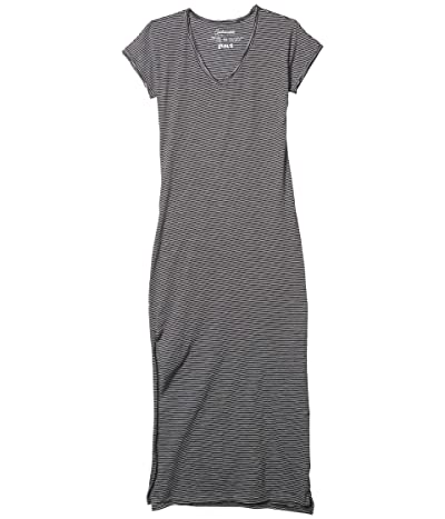 PACT Organic Cotton Market Maxi Dress (Small Stripe) Women