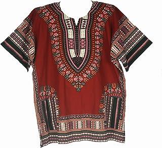 قميص من Dashiki قميص أفريقي من الملابس ذات القداحة ...