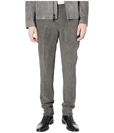 John Varvatos Collection Motor City Fit Jeans with Zip Fly in Metal Grey J293W1 (Metal Grey) Men