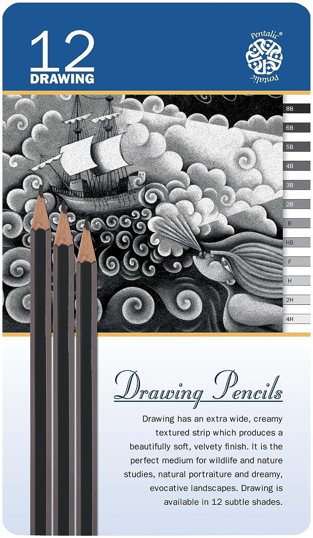 Pentalic Sketch Pencil Set fqqknmeczdlep057