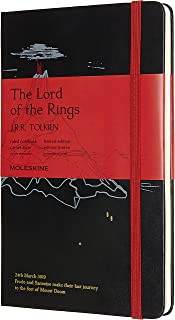 Moleskine Limited Edition Lord Of The Rings Notebook, Hard Cover, Large (5