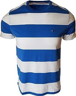 Tommy Hilfiger Men's Striped Crewneck T-Shirt
