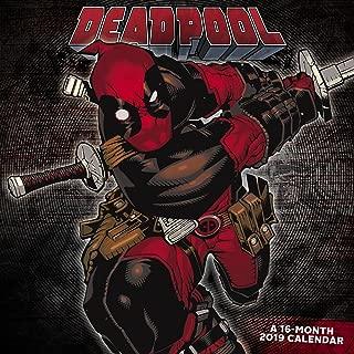 Deadpool Wall Calendar (2019)