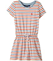 Polo Ralph Lauren Kids - Striped Jersey Tee Dress (Toddler)