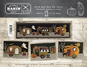 Halloween Campers in a Row Wool Applique Pattern - by Buttermilk Basin - 12