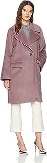 j crew purple coat