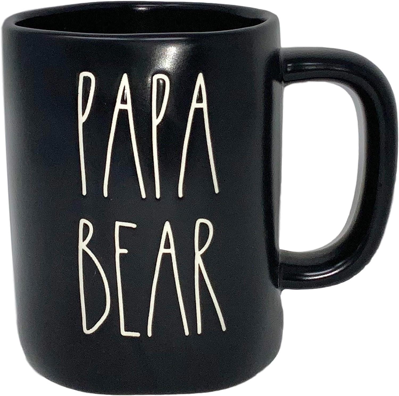 永遠の定番 Rae Dunn Papa Bear 内祝い Mug – BY BLACK Artisan MAGENTA Collection -