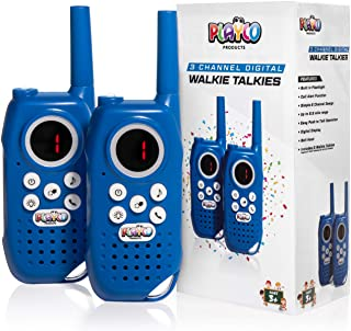 Playco Walkie Talkies for Kids – Keep it Simple with Our Easy to Learn 3 Channel..