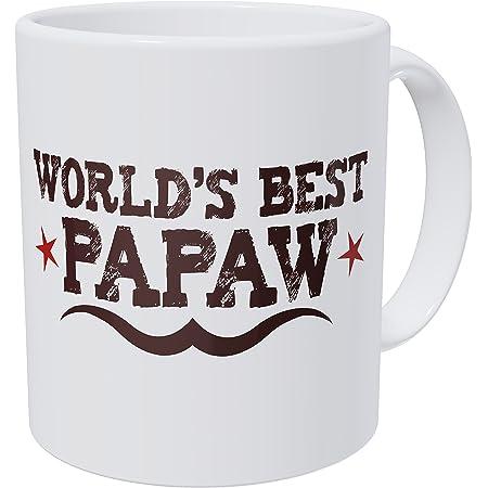 Grandpa Gifts Hunting Camo Best Buckin/' Paw Paw Ever Coffee Mug Tea Cup