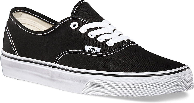 Vans Authentic Canvas Unisex Skate Trainers Shoes