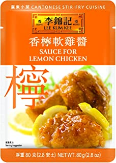 Lee Kum Kee Sauce For Lemon Chicken, 2.8-Ounce Pouches (Pack of 12)