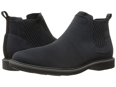 Mark Nason Tamar (Black Dressknit/Black Pin/Charcoal Welt/Black Bottom) Men
