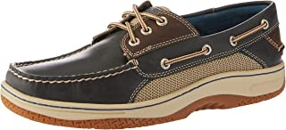 Sperry Billfish 3-Eye Men's Boat Shoes, Navy, 10 US