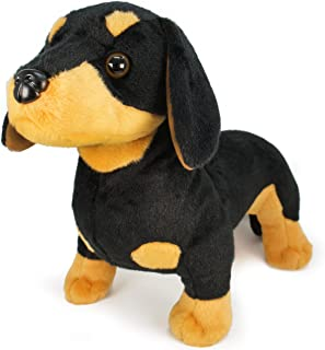 VIAHART Dierdrik The Dachshund | New and Improved Design! | 16 Inch Large Dachshund Dog Stuffed Animal Plush | by Tiger Tale Toys