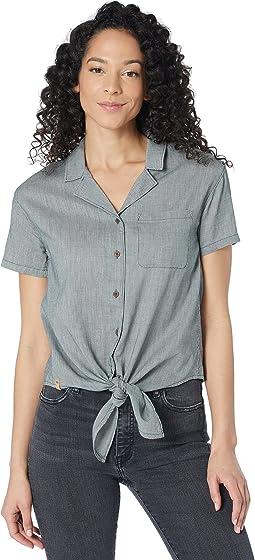 Isa Tie Front Shirt
