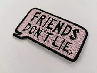 toppa STRANGER THINGS 11 friends don't lie patch 8x5cm