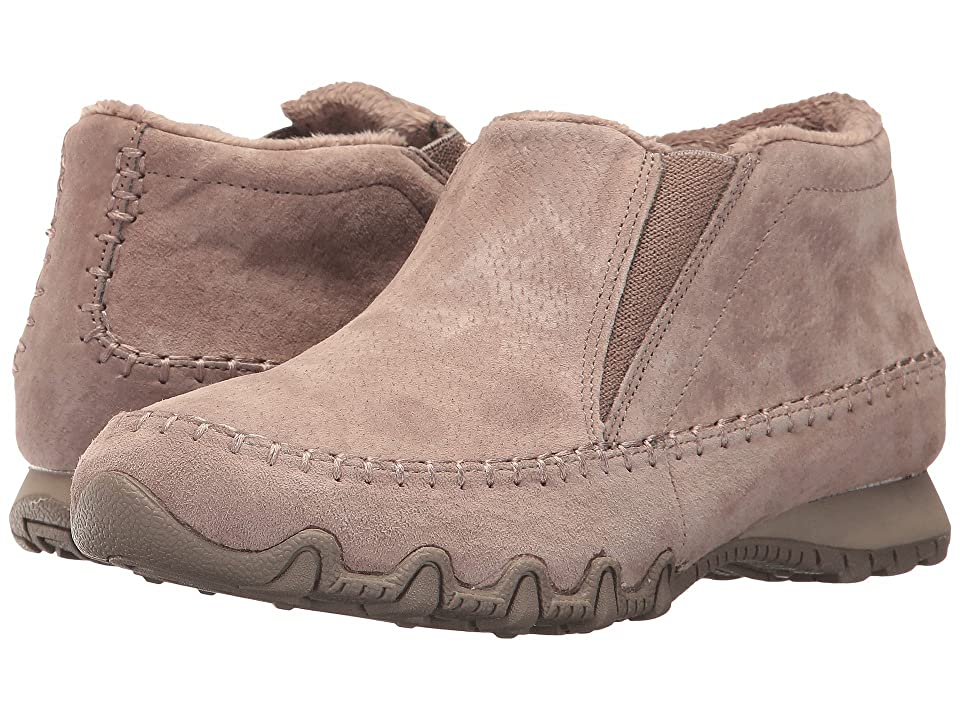 SKECHERS Bikers Navajo (Dark Taupe) Women