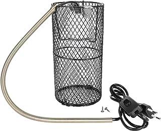 Fdit Reptile osłona lampy, ceramiczny uchwyt na lampy grzewcze, ochrona gadów, klosz lampy do pająków korpionowych (Ejurki...
