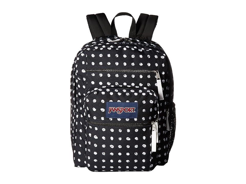 JanSport Big Student (Black Sketch Dot) Backpack Bags