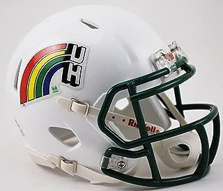 Riddell NCAA Hawaii Warriors Helmet Mini SpeedHelmet Replica Mini Speed Style Retro Rainbow, Team Colors, One Size