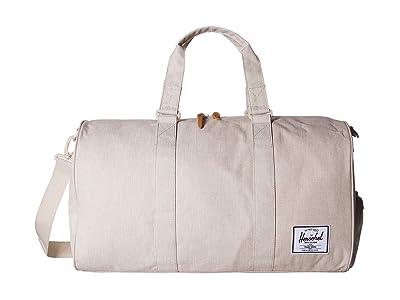 Herschel Supply Co. Novel (Overcast Crosshatch) Duffel Bags