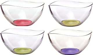 Best colored glass serving bowls Reviews