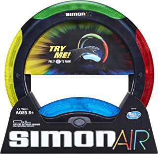 Hasbro Simon Air Game – Touchless Technology – Master the Moves to Win – Solo and 2 Player Mode – A Modern Twist on the Classic Game