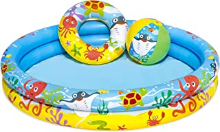 Bestway Play Pool Set With Ball And Swim Ring For Kids, 51124