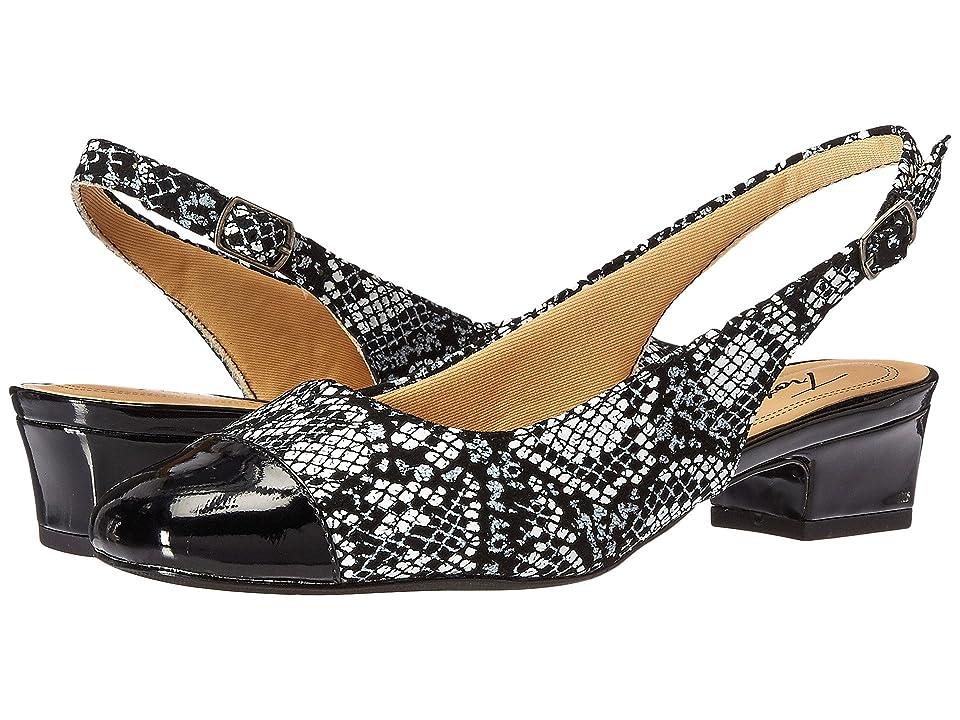 5e1d7329a0d Trotters Dea (Black Black Pearl) Women s 1-2 inch heel Shoes