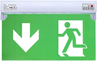 Continu licht LED noodverlichting noodverlichting exit nooduitgang vluchtpad licht noodlicht vluchtweg EXIT IP20 of IP65 (...