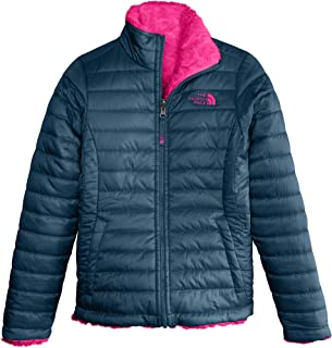 c22defb8fd05 The North Face Girl s Reversible Mossbud Swirl Jacket - Blue Wing Teal - XXS