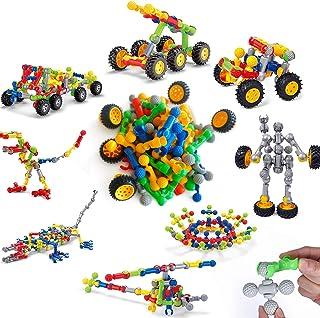 Sponsored Ad - YMD Educational Kids Toys Variety Chariot Plastic Building Blocks Educational Toys for Children Gift for Bo...