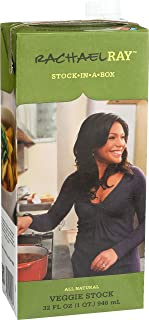 Rachael Ray Stock-In-A-Box Rachael Ray Vegetable Stock, 32-Ounce (Pack of12)