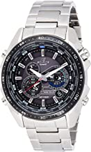 Casio Men's EQS500DB-1A1 Edifice Tough Solar Stainless Steel Multi-Function Watch..